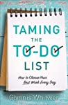 Book cover for Taming the To-Do List