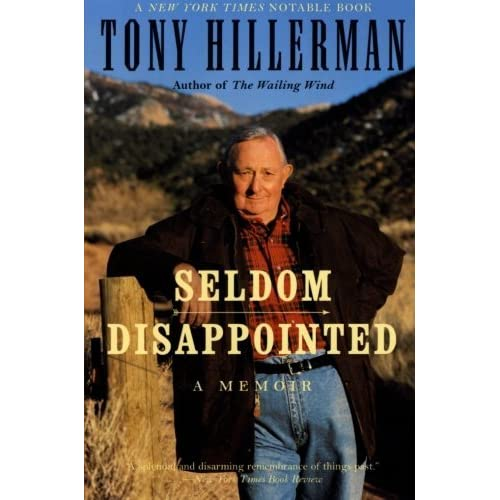 tony hillerman author biography outline