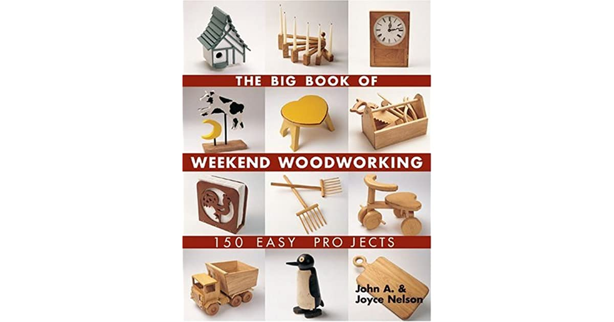 The Big Book Of Weekend Woodworking 150 Easy Projects By
