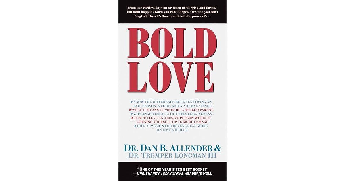 Bold Love By Dan B Allender
