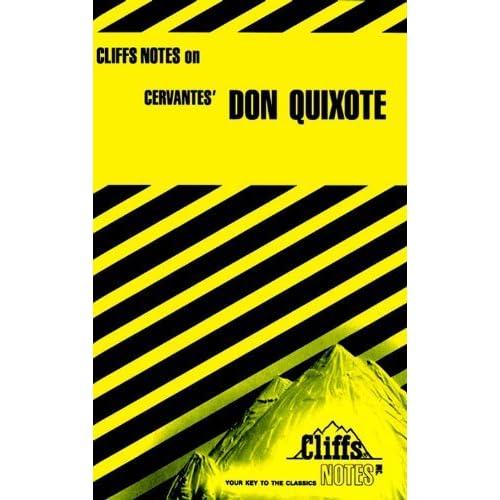 cliffsnotes on cervantes don quixote cliffsnotes literature guides