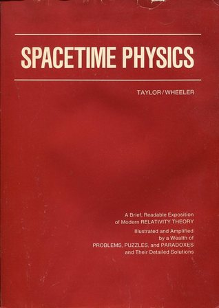 Spacetime Physics by Edwin F  Taylor
