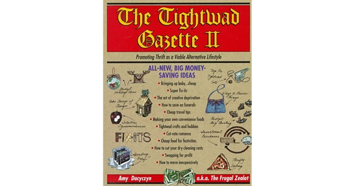 how to be a tightwad