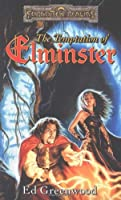 Portada del libro La tentación de Elminster, de Ed Greenwood