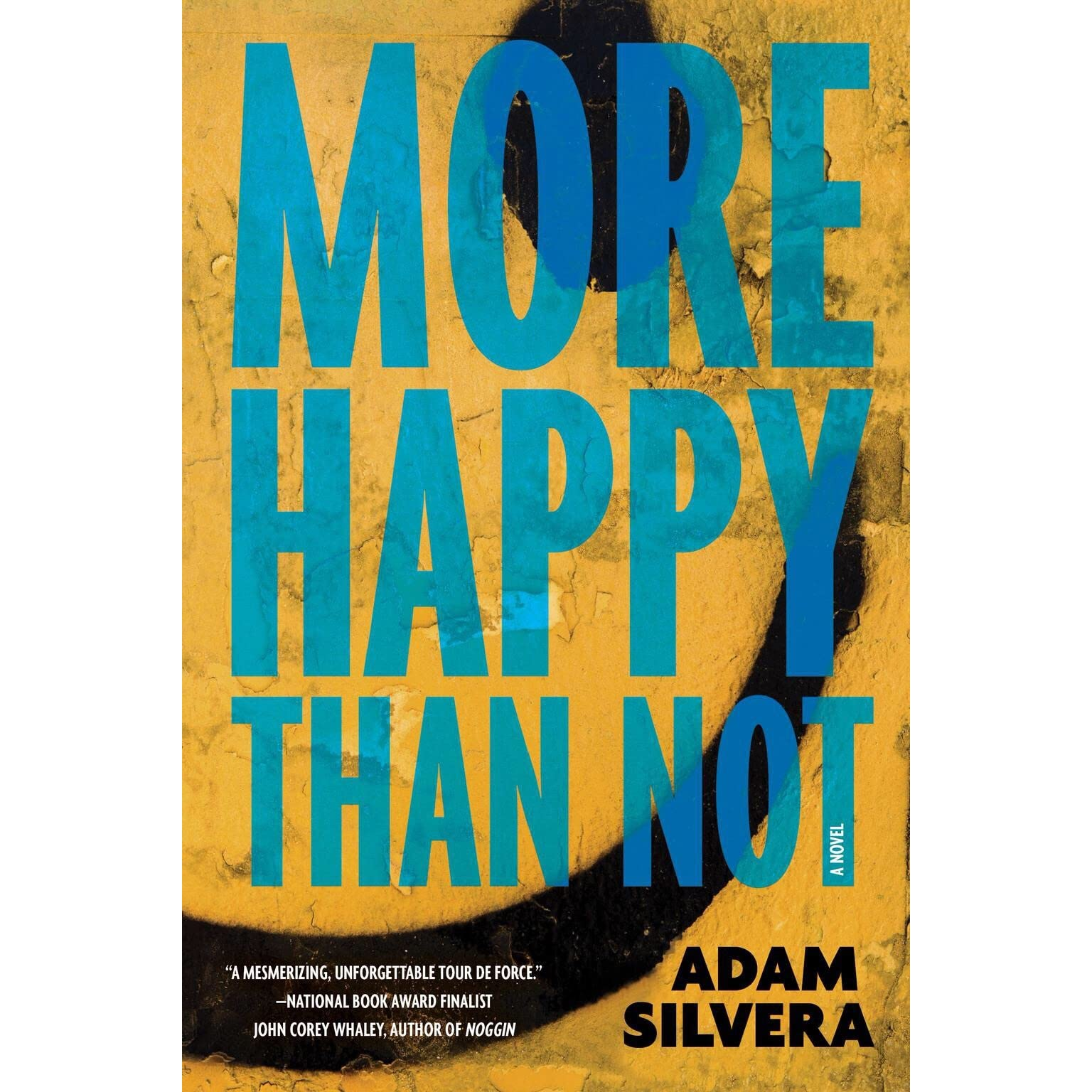 How To Make A Book Cover Look Old And Worn ~ More happy than not by adam silvera