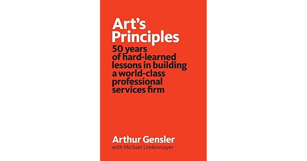 Art S Principles : Art s principles years of hard learned lessons in