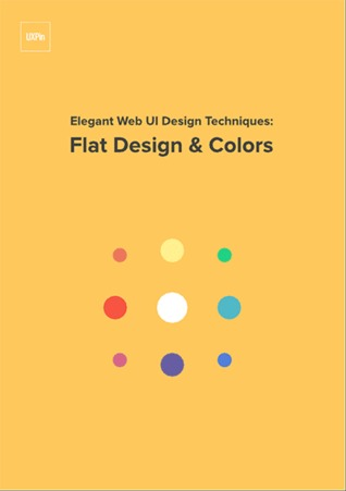 Flat design and colors by UXpin