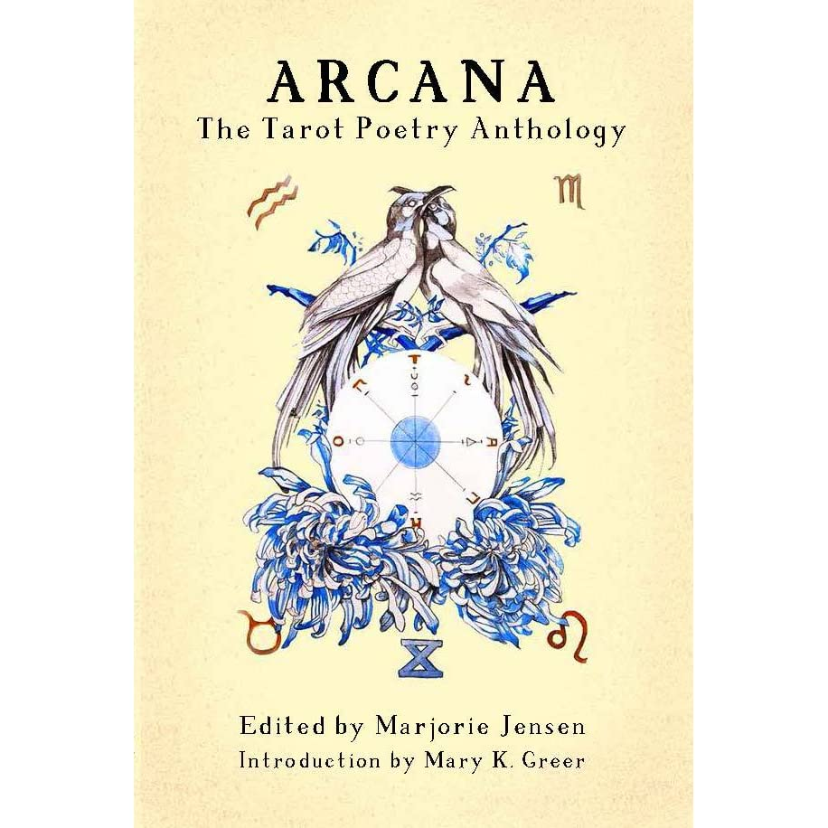 Poetry Book Cover Jobs : Arcana the tarot poetry anthology by marjorie jensen