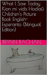 What I Saw Today Kion mi vidis Hodiaŭ Children's Picture Book English-Esperanto