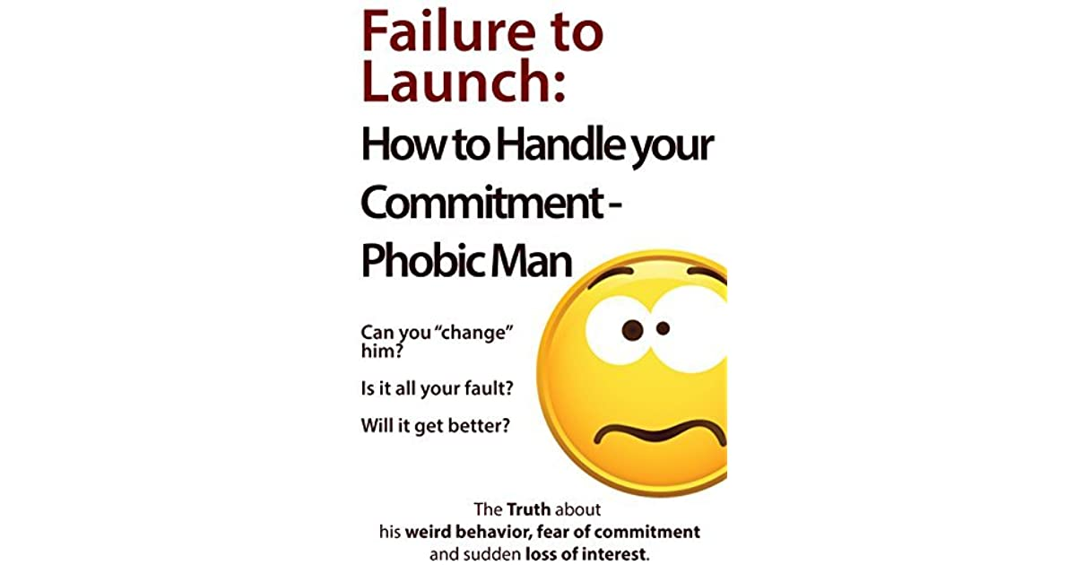How to deal with a commitment phobic man