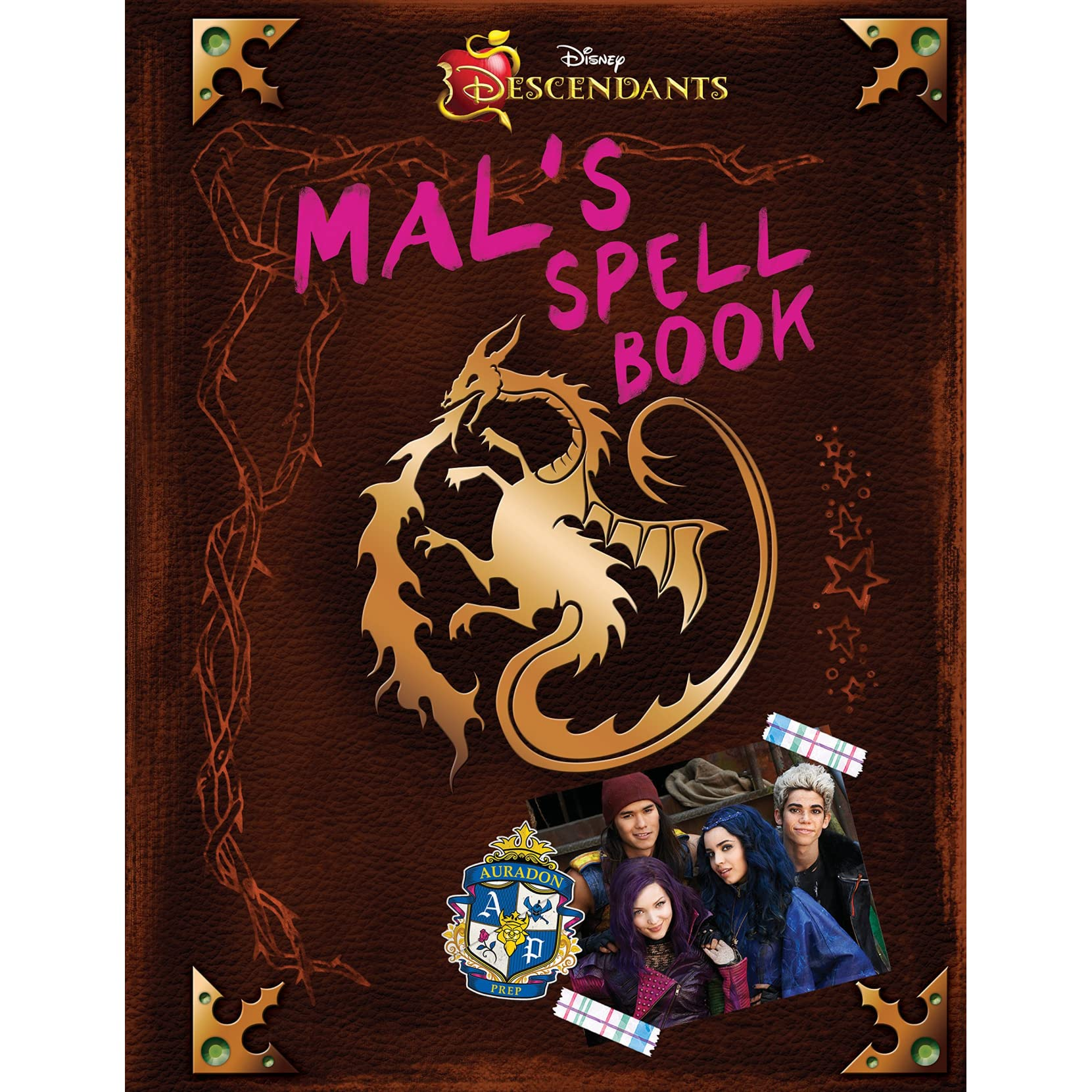 Descendants: Mal's Spell Book By Tina Mcleef '�  Reviews, Discussion,  Bookclubs,
