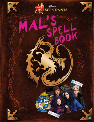 Descendants Mal S Spell Book By Tina Mcleef