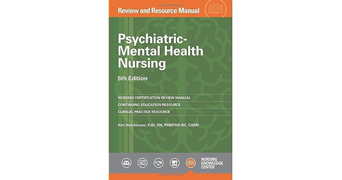 Psychiatric-Mental Health Nursing Review and Resource Manual, 5th