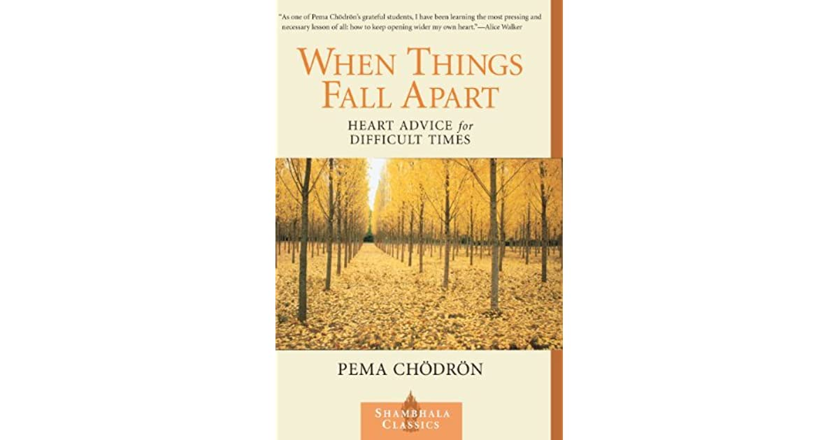 Pema Chodron When Things Fall Apart Quotes Download Your Favorite