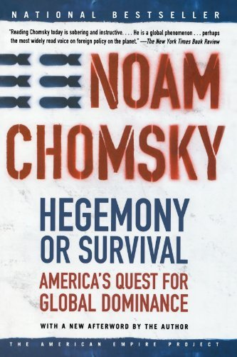 Chomsky, Noam - Hegemony or Survival - America's Quest for Global Dominance