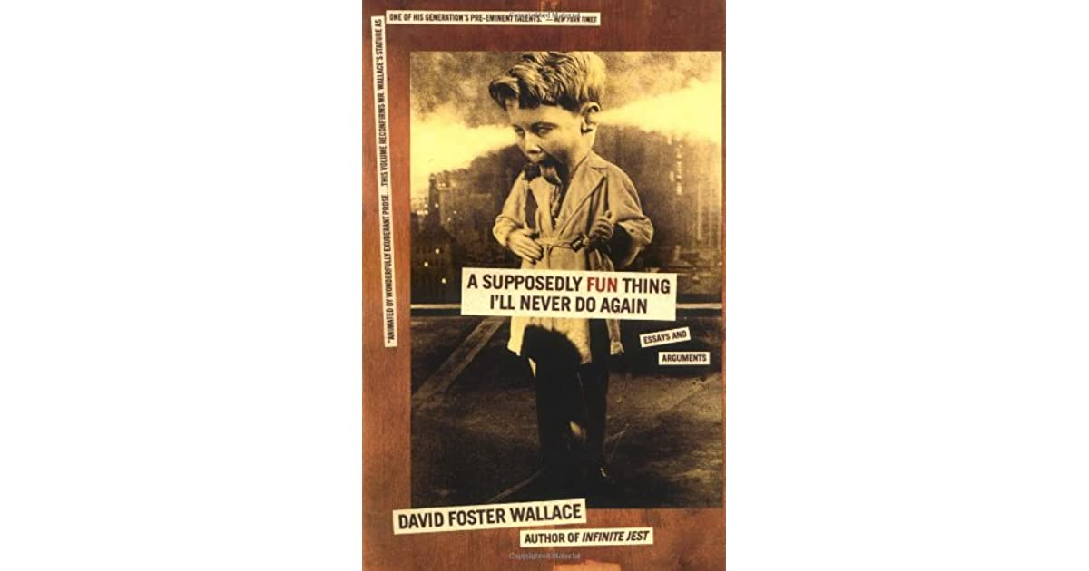 shipping out david foster wallace summary