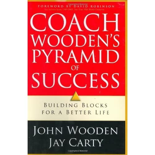 Coach Woodens Pyramid Of Success Building Blocks For A Better Life