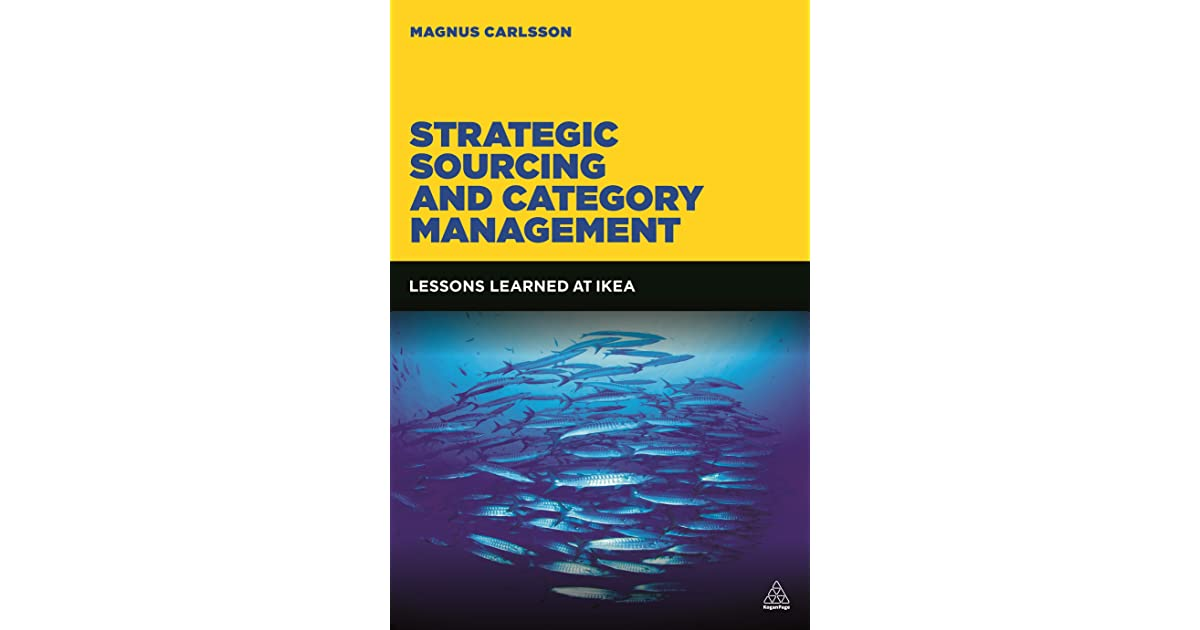 strategic sourcing and category management pdf