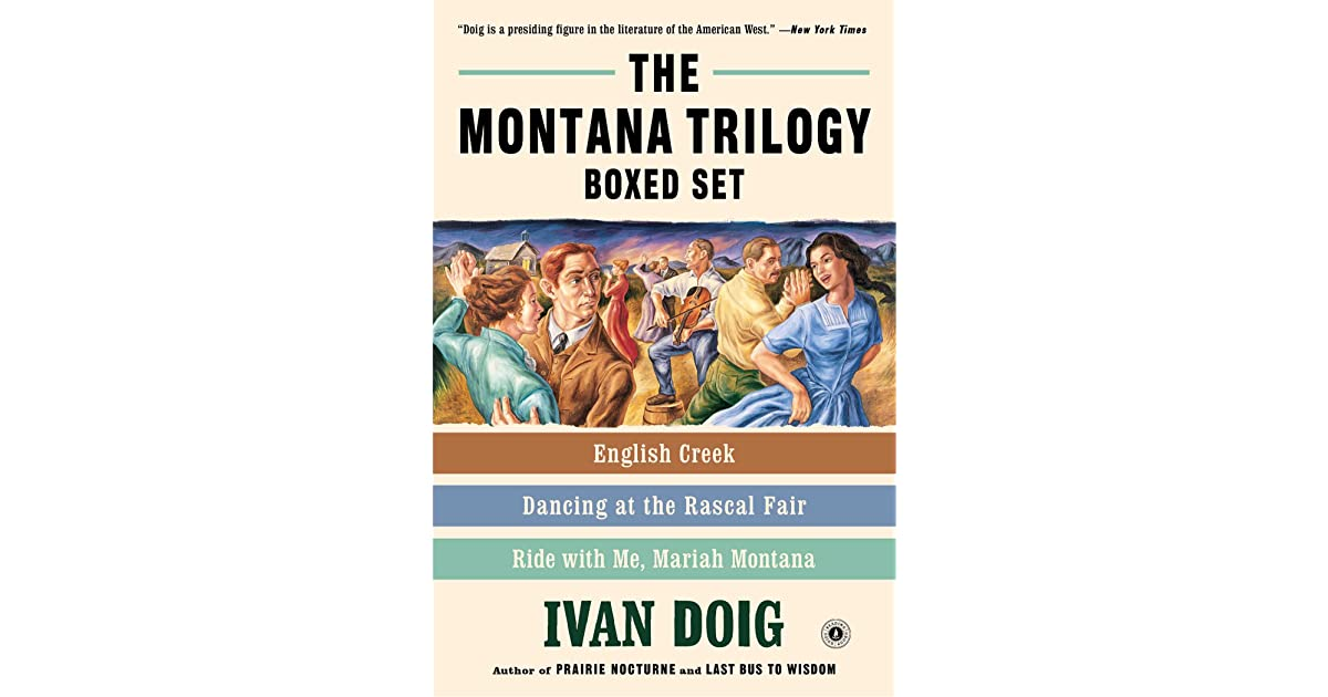 The Montana Trilogy Boxed Set English Creek Dancing At The Rascal