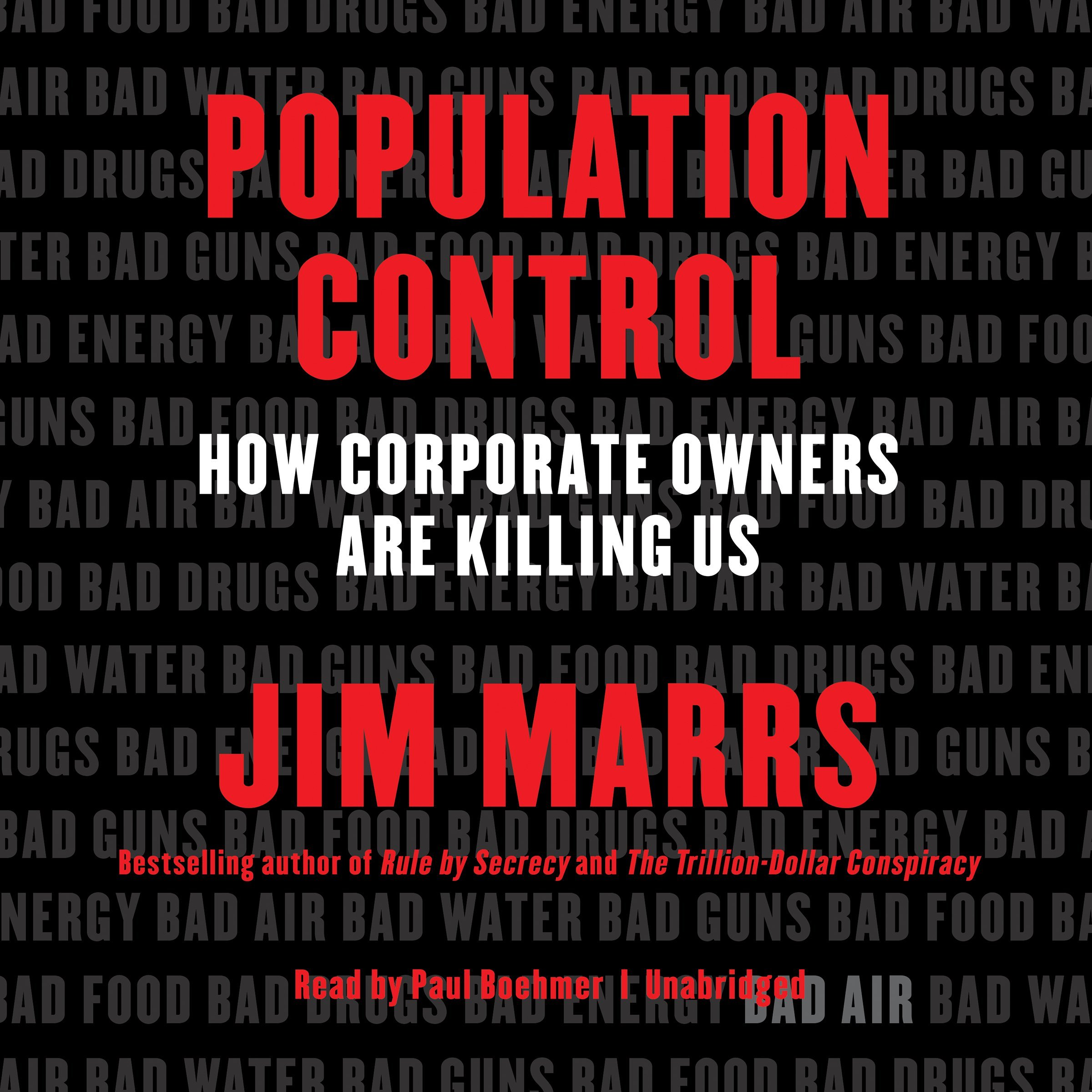 Population Control  How Corporate Owners Are Killing Us