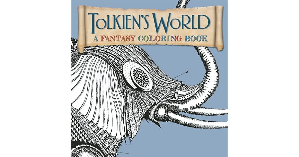 tolkiens world a fantasy coloring book by allan curless - Fantasy Coloring Book