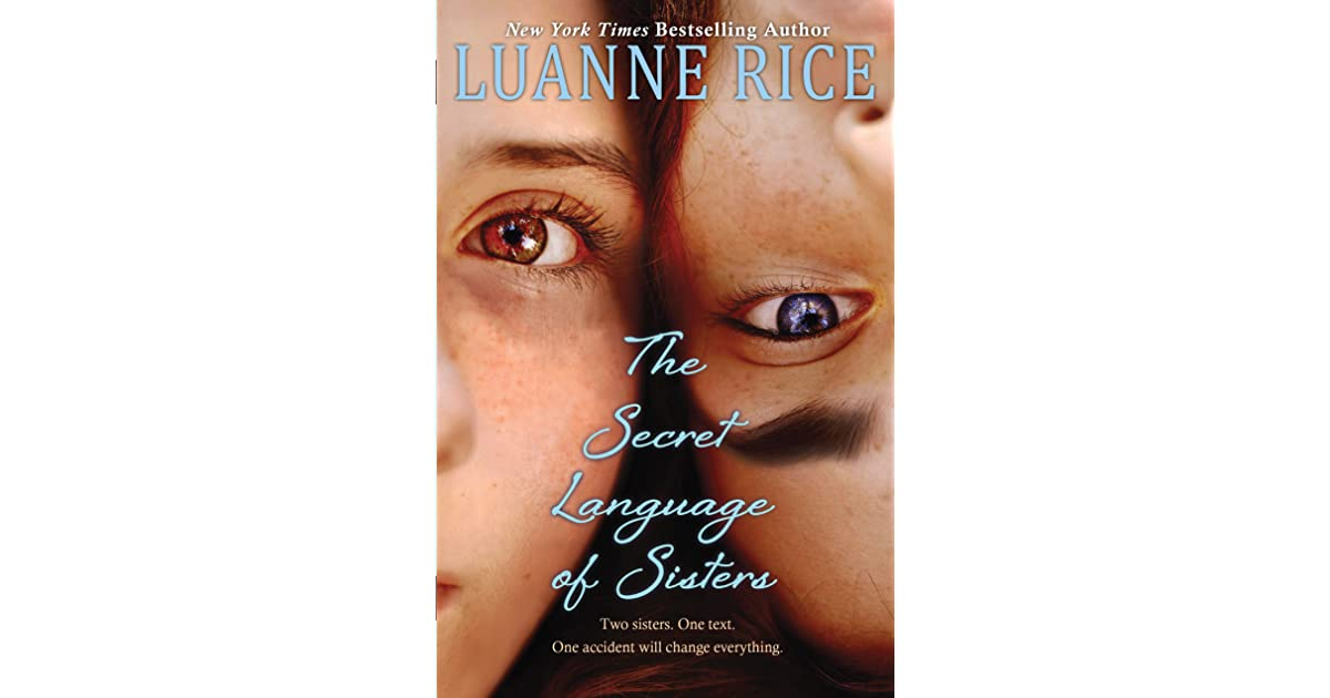 The secret language of sisters by luanne rice fandeluxe Epub