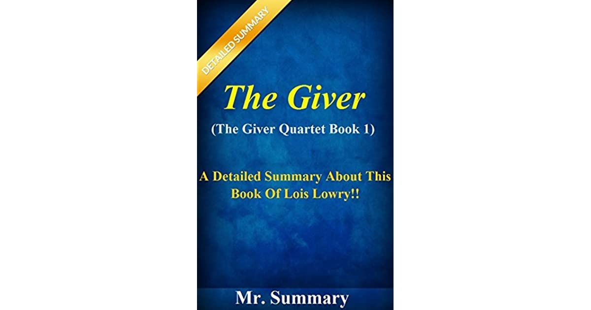 an analysis of the giver by lois lowry
