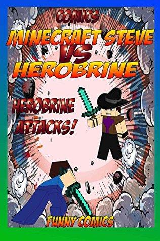 Minecraft Steve vs. Herobrine: Herobrine Attacks!