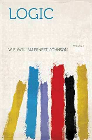 Logic William Ernest Johnson