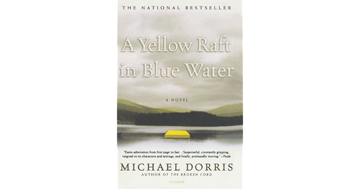 yellow raft in blue water sparknotes