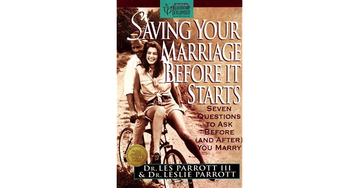 Saving Your Marriage Before It Starts Workbook Pdf