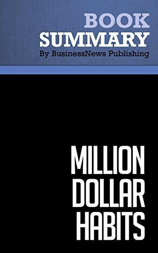 Million Dollar Habits Brian Tracy