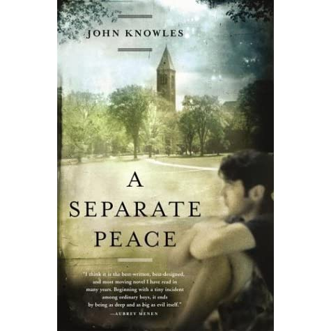 how power is used in john knowles a separate peace