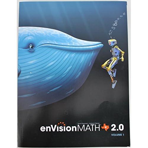 EnVision Math 2 0 Texas Edition Volume 1 5th Grade Workbook