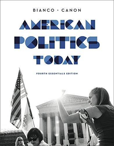 American Politics Today Essentials 3rd edition