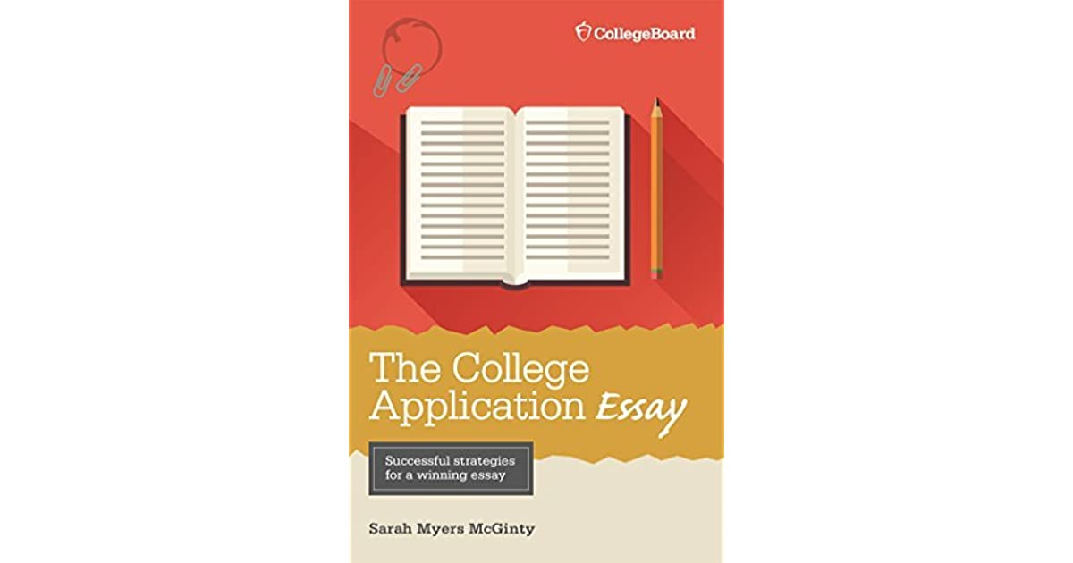 sarah myers mcginty the college application essay Master thesis alternative investments college application essay pay by sarah myers mcginty winston churchill research papers essay cheats.