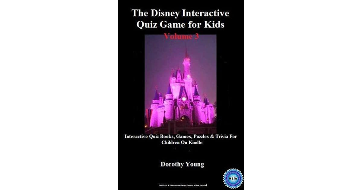 The Disney Interactive Quiz Game for Kids: Interactive Quiz Books