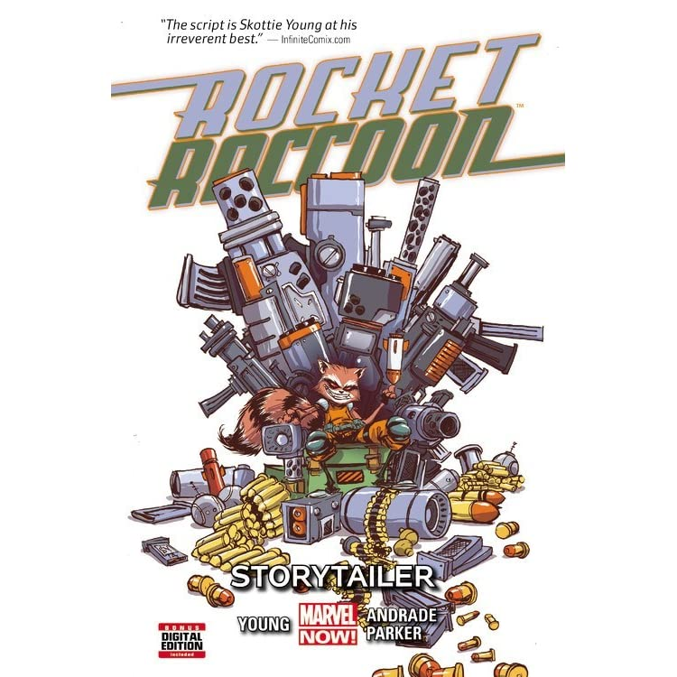 Rocket Raccoon Volume 2 Storytailer By Skottie Young