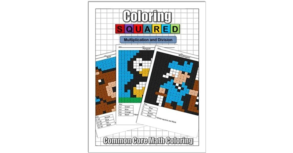 Coloring Squared Multiplication And Division By Cameron Krantzman