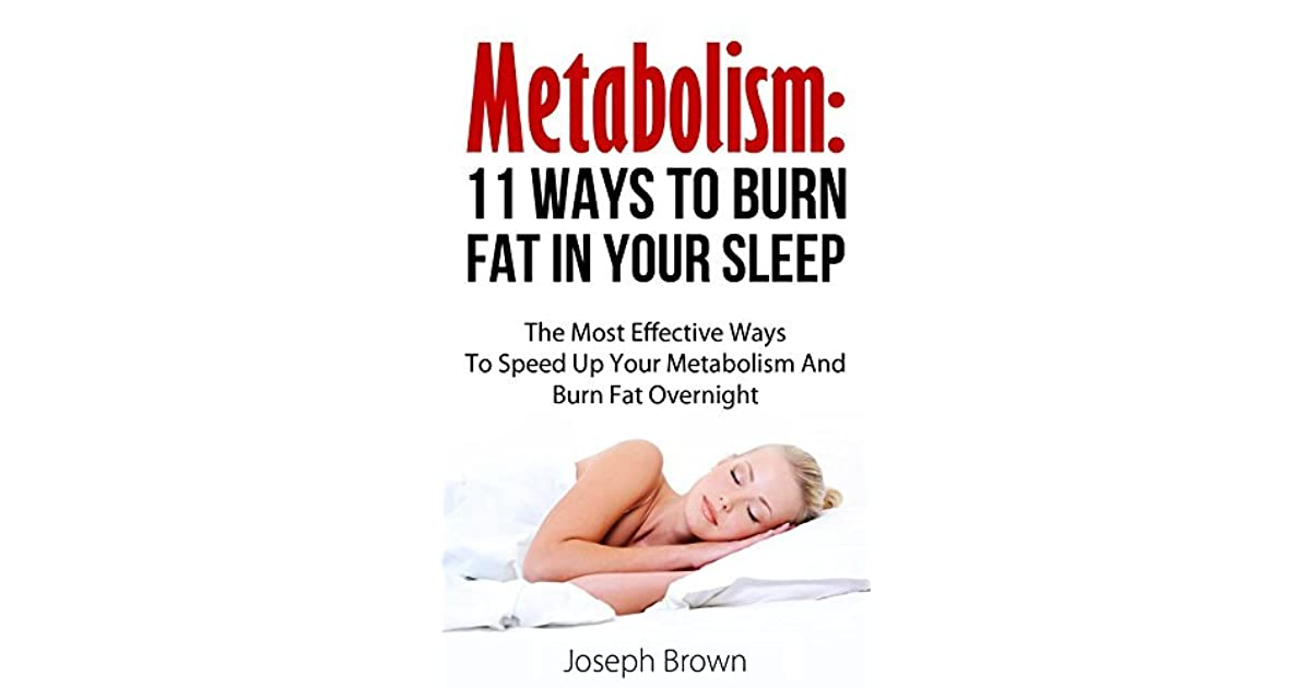 how to burn weight in your sleep