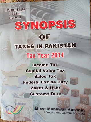 synopsis of taxes in Pakistan