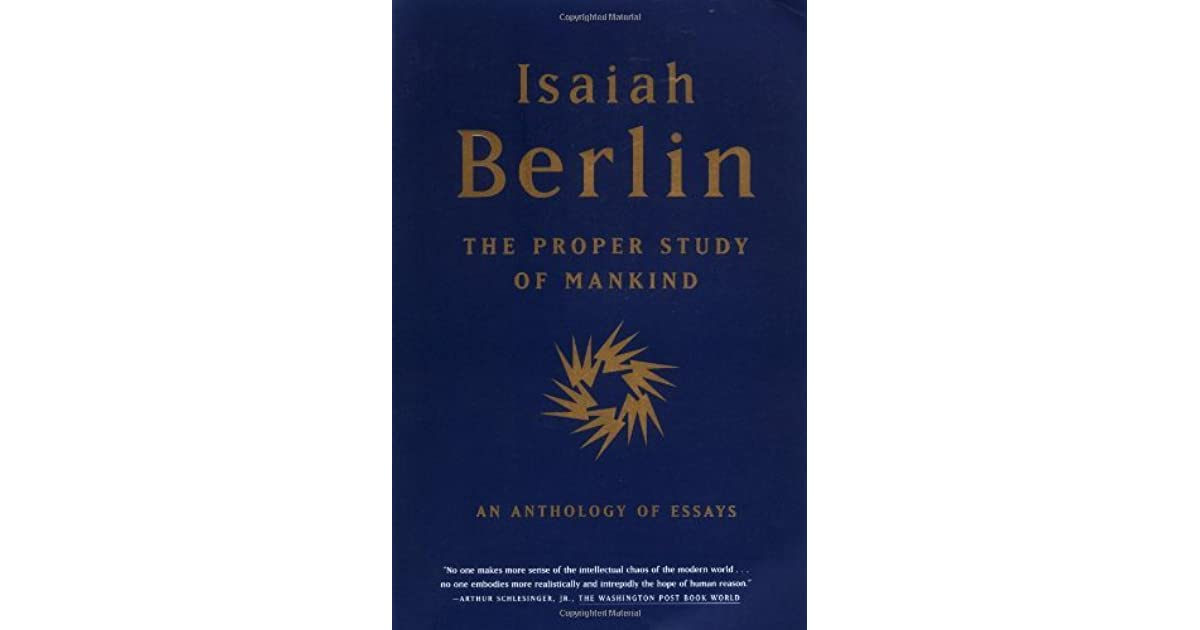 isaiah berlin essay Isaiah berlin defends churchill against the charge that his writings are windy and self-aggrandizing.