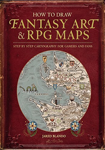 how to draw fantasy art and rfg maps