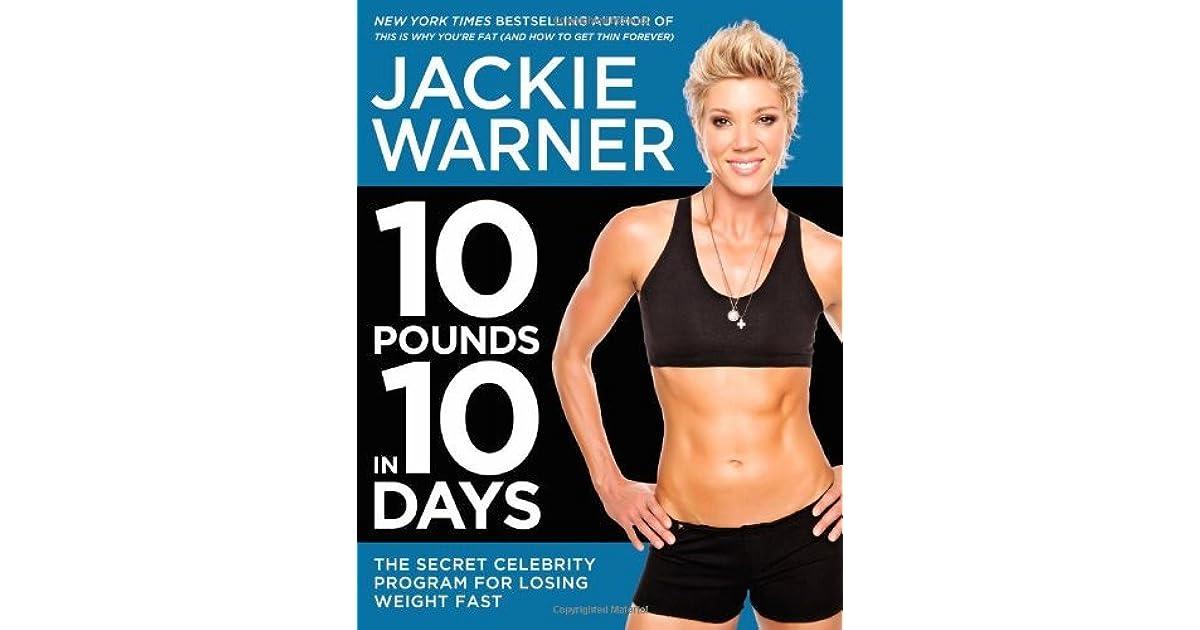 jackie warner 10 day diet shopping list