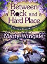 Book cover for Between a Rock and a Hard Place (Potting Shed Mystery, #3)