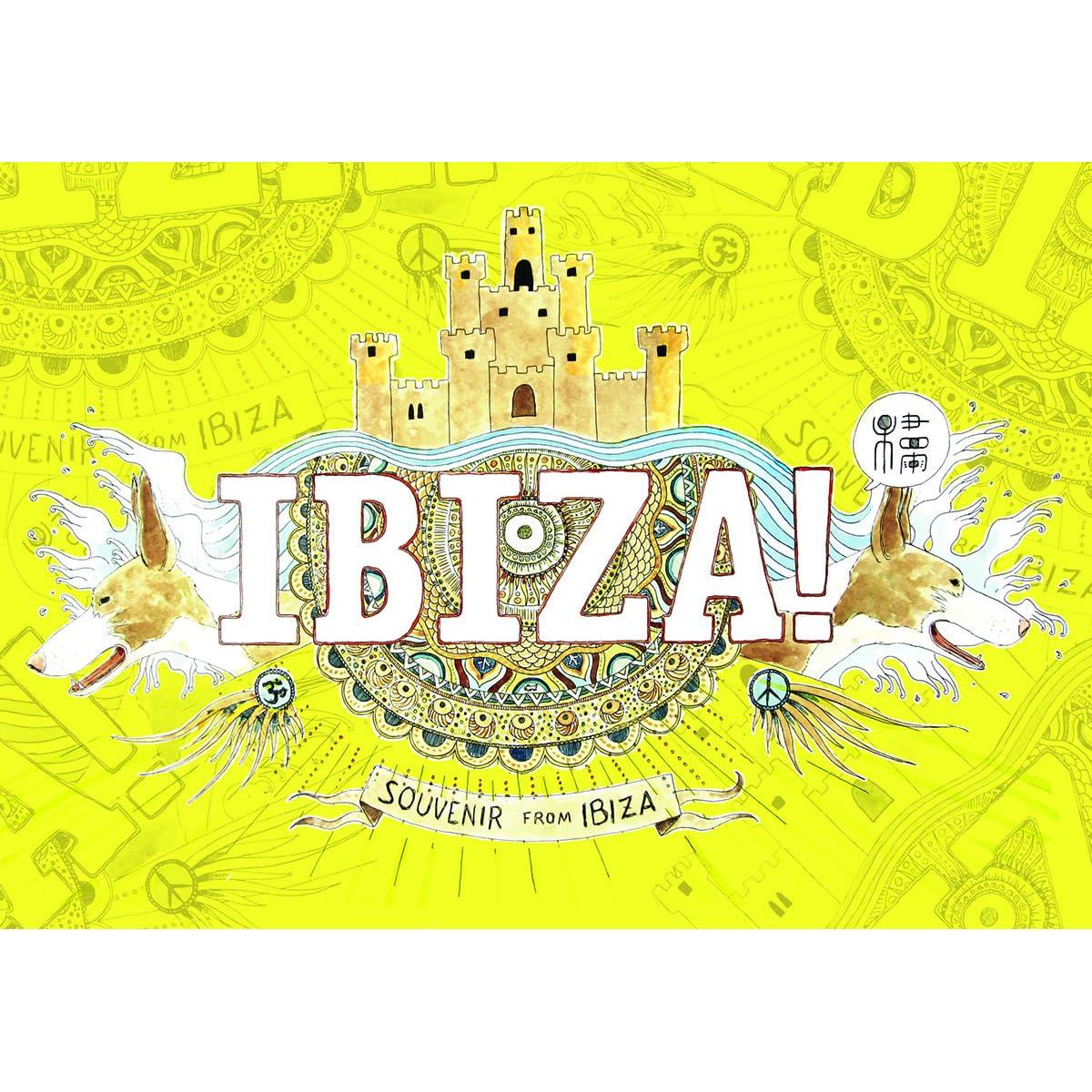 Ibiza Souvenir Book By Bernat Moreno