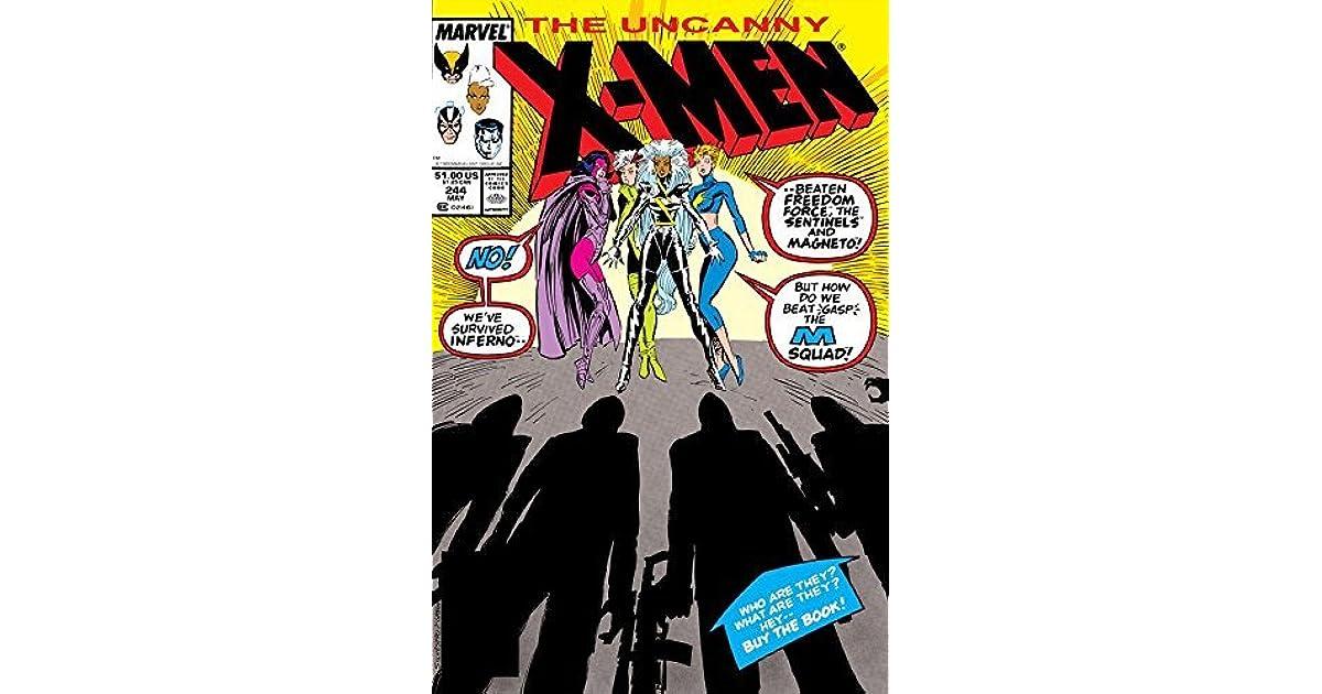 Uncanny X-Men Vol #244 1963-2011 1