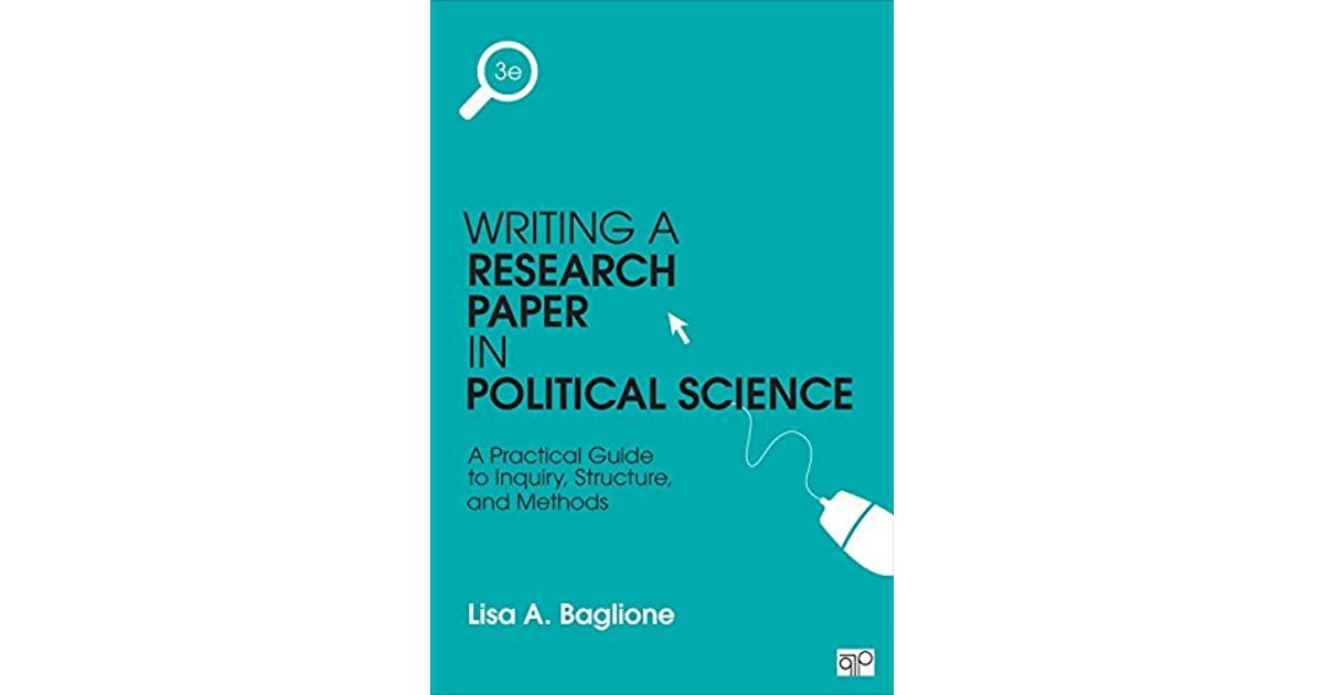 writing political science research paper Research papers in political science: – political scientists are great borrowers – psychology writing is a process, not an event.