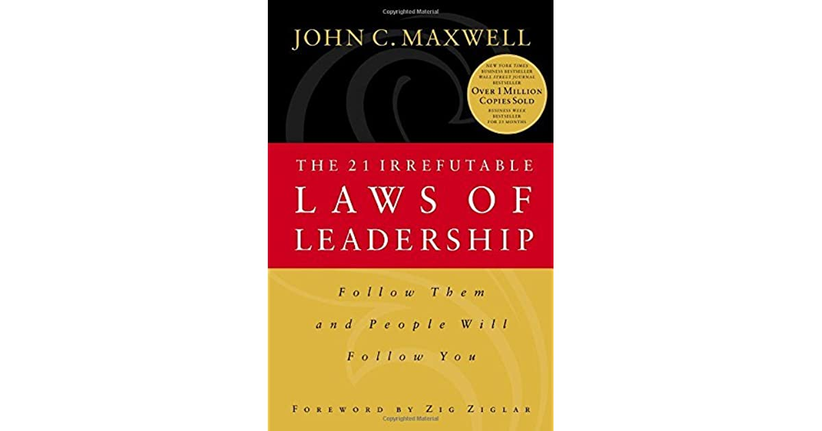 21 Laws Of Leadership Ebook
