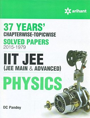 37 Years' Chapterwise Solved Papers (2015-1979) IIT JEE